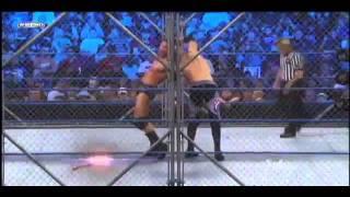 Randy Orton (World Heavyweight Champion) vs. Christian Steel Cage Match (Championship Match)