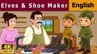 Elves And The Shoe Maker in English | English Story | Fairy Tales in English | English Fairy Tales