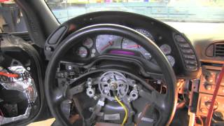 C5 Corvette instrument cluster removal , installation
