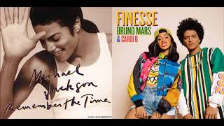 Do You Remember the Finesse - Bruno Mars (feat. Cardi B)/Michael Jackson Mashup