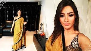Como vestir um Sari   How to wear a Saree   Trips & Life     Thamires Nascimento