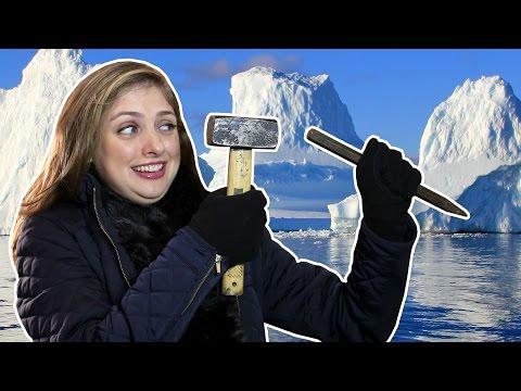 Aprenda a fazer pykrete o gelo indestrutível
