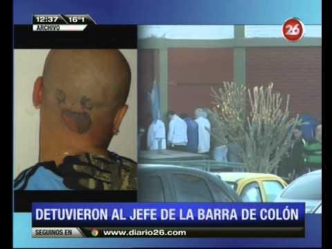 Canal 26 Detienen en Buenos Aires a jefe de la barra de Colón