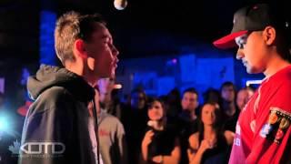 KOTD - Rap Battle - Chedda Cheese vs Lex D