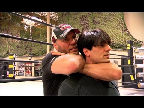Criss Angel BeLIEve Randy Couture Puts Criss Out On Spike