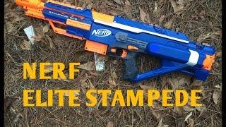 Review: The Nerf Elite Stampede ECS-18