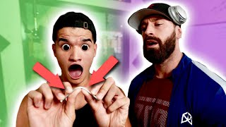 HYPNOTIZED STRENGTH TEST! **I BENT STEEL NAIL?!*