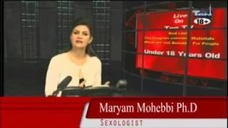 Maryam Mohebbi آموزش دیر ارضا شدن مرد در سکس