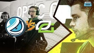FIRST EVENT WITH THE NEW TEAM!! OpTic Gaming VS Luminosity! (CWL VEGAS)