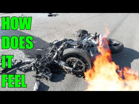 What A Motorcycle Crash Feels Like