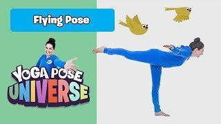 Flying Pose   Yoga Pose Universe