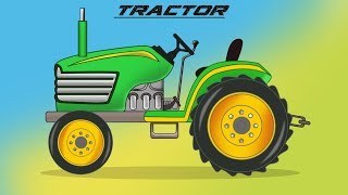 Kids Tv Channel | Tractor | Formation and Uses | Video for kids and Toddlers