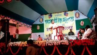 Satsang Famous Singer Manu  Dey live song in 129 sri thakur, canning utsav