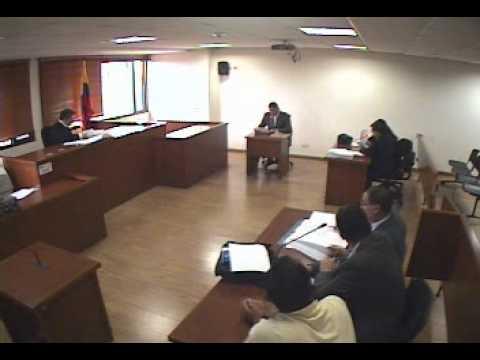 Juicio Oral interrogatorios No. 1