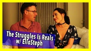 THE DEATH OF OF MY MOTHER W/ ELLO STEPH! | The Struggles is Reals Ep 16