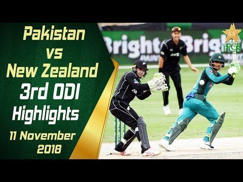 Xxx Mp4 Pakistan Vs New Zealand 3rd ODI Highlights 11 November 2018 PCB 3gp Sex