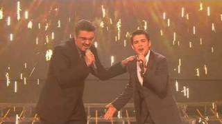 The X Factor 2009 - Joe & George Michael: Don't Let The Sun - Live Show 10 (itv.com/xfactor)