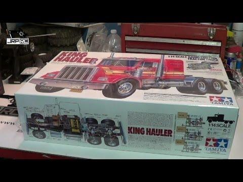 JRP RC Tamiya King Hauler 6x6 Build Pt.1 Unboxing