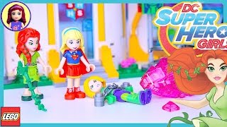 Lego DC Superhero Girls Super Hero High School Build Part 2 Review Silly Play - Kids Toys