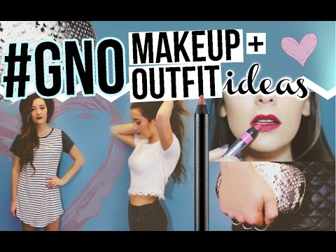 Girls Night Out Makeup + Outfit Ideas!