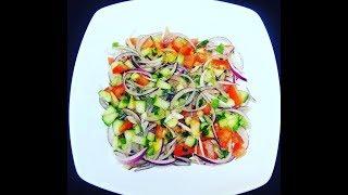 Simple Delicious Salad In English