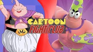 MAJIN BUU vs PATRICK STAR! (Dragon Ball Super vs Spongebob Squarepants)   CARTOON FIGHT CLUB!