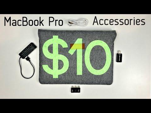 Top 5 MacBook Pro Accessories Under 10