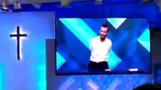 5/3/14 - Nick Vujicic Speak's @ Saddleback Church Lake Forest Bringing HOPE 4pm