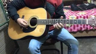 How To Play Sargam on Guitar   SA,RE,GA,MA,PA,DHA,NI,SAA(Lesson #1)....