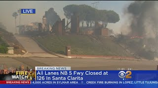 'It's Devastating': Civilians Try To Save Homes From Burning In Ventura