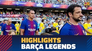 [HIGHLIGHTS] Barça Legends vs Romania Legends (2-0)