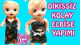 Baby Alive Lily ve Blonde Oyuncak Bebek için Elbise Yapımı | Oyuncak Bebekler | Oyuncak Butiğim