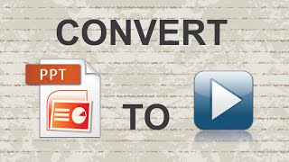 Convert Powerpoint to Video