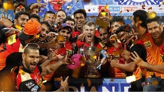 IPL 2017 Team Preview: Sunrisers Hyderabad