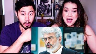 NERKONDA PARVAAI |  Ajith Kumar | Shraddha Srinath | Trailer Reaction by Jaby Koay & Achara Kirk!