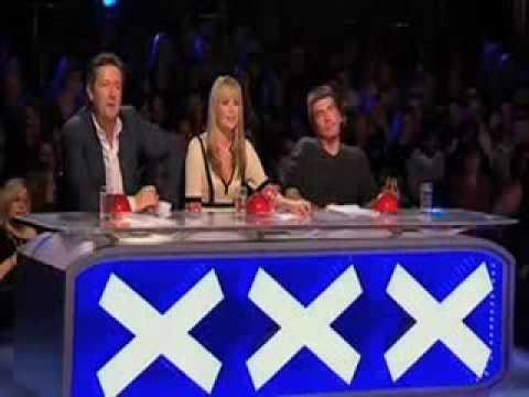 Abuelo Bailando Breakdance Britain`s Got Talent Show 7