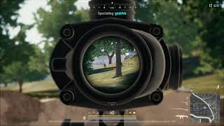 PUBG - No death cam due to unusual movement - here is the replay - legit?