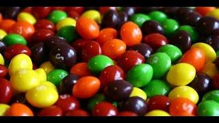 Sharkey Candy Challenge - Skittles vs Starburst & Nerds vs Sour Patch