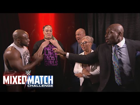 Xxx Mp4 Kurt Angle Teams A Reluctant Nia Jax With Apollo Crews In WWE Mixed Match Challenge 3gp Sex