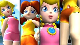 Mario and Sonic at the Olympic Games GIANTESS PEACH & DAISY (Wii)