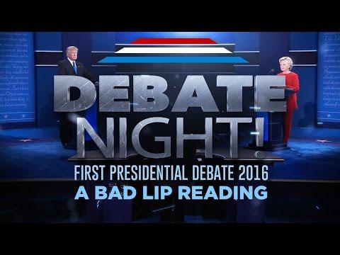 DEBATE NIGHT — A Bad Lip Reading of the first 2016 Presidential Debate