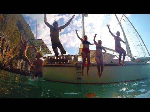 60. SV Delos Sailing Island Hopping In Phad Thai Paradise