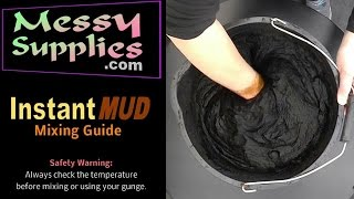 MessySupplies: Instant MUD - Easy Mixing Guide