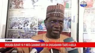 Tsaro: Shugaba Buhari Ya Yi Wata Ganawar Sirri Da Shugabannin Tsaro A Abuja