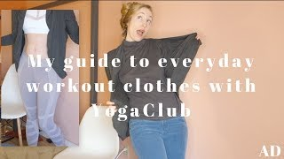 My guide to everyday workout clothes with YogaClub