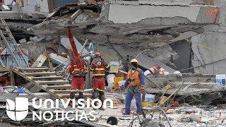 Rescatistas de Israel dicen que en edificio desplomado de México habría personas con vida