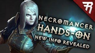 NECROMANCER HANDS-ON! New info (Diablo 3 gameplay)
