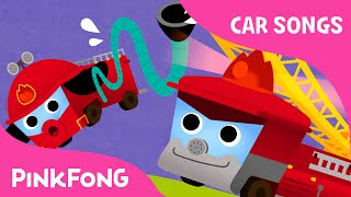 Fire Truck Song | Car Songs | PINKFONG Songs for Children