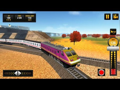 Passenger Train Driving Game | Indian Train Simulator : Train Games Android GamePlay & Game Video HD