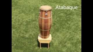 Instrumentos musicais utilizados na CAPOEIRA.